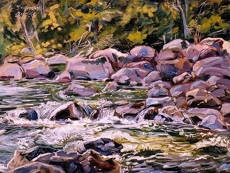 Stream, Lake George